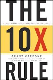 The 10X Rule: The Only Difference Between Success and Failure (Cardone)