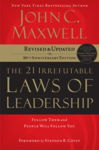 Maxwell - 21 Irrefutable Laws of Leadership